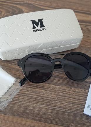 Люксовые солнцезащитные очки missoni