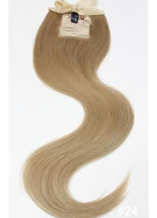 Волосы натуральные славянка хвост