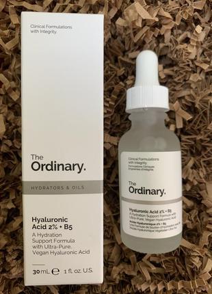 Сыворотка с гиалуроновой кислотой 2% + b5 the ordinary hyaluronic acid 2% + b5