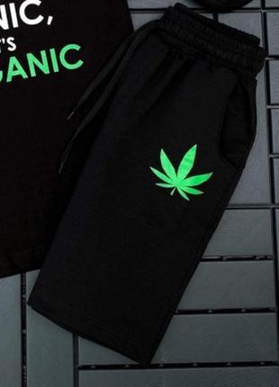 Спортивные шорты organic | трикотажные базовые