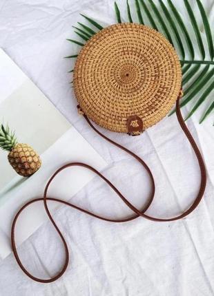Сумка балибег ротанг ротанговая сумка соломенная солома