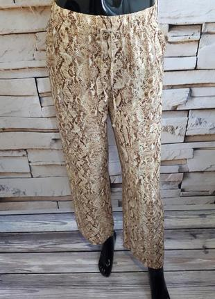 Легкие прямые брюки штаны из вискозы