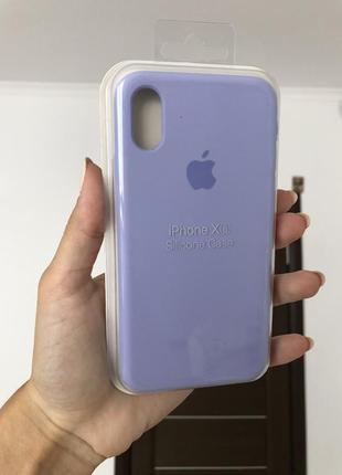 Чехол на айфон 10,x,xs silicon case