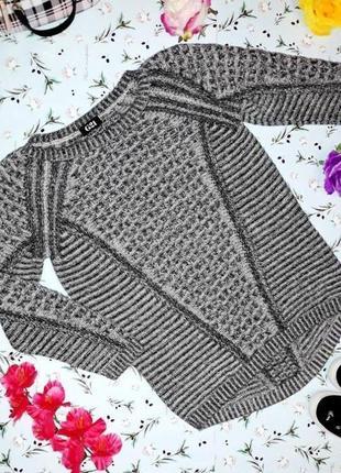 🌿1+1=3 шикарный фирменный теплый серый женский свитер george, размер 50 - 52