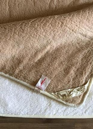 Одеяло из ламы натуральное немецкое двухстороннее 100*190