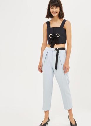 Штаны, брюки чинос, высокая талия