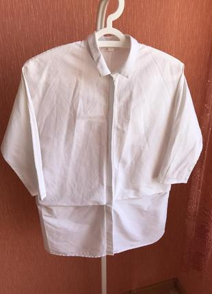 Белая рубашка cos  нежная