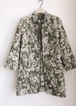 Удлиненный летний пиджак miss selfridge