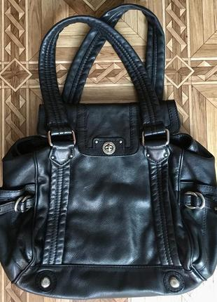 Оригинал!кожаная сумка marc by mark jacobs