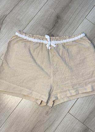Хлопковые шорты для сна