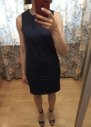 Платье базовое нарядное деловое xs