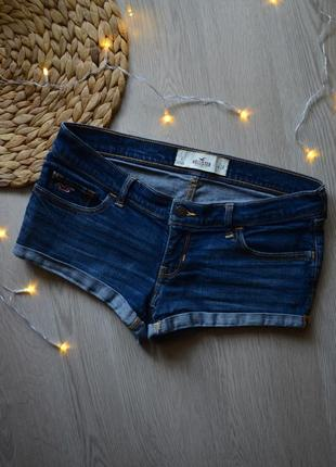 Актуальные джинсовые шорты hollister w26.