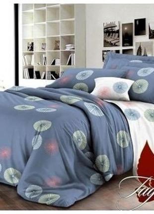Комплект стильного постельного белья новый полуторный