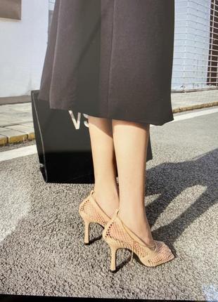 Туфли в стиле ботега венета, туфли нарядные , в сеточку