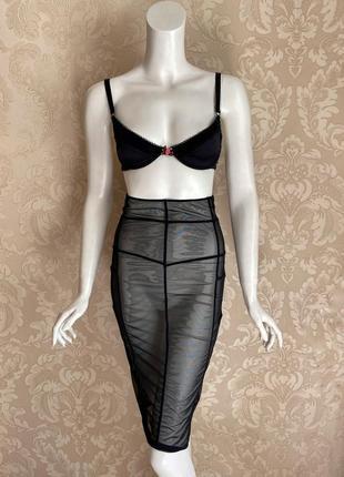 Maison close нижнее белье юбка пояс для чулок agent provocateur