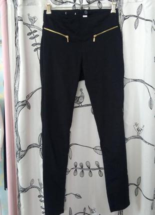 Брюки леггинсы джинсы черные  чорні  джинсы с высокой посадкой