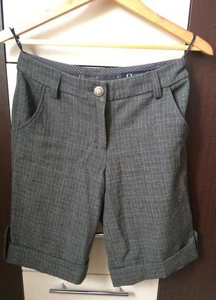 Классические шорты до колена бриджи капри