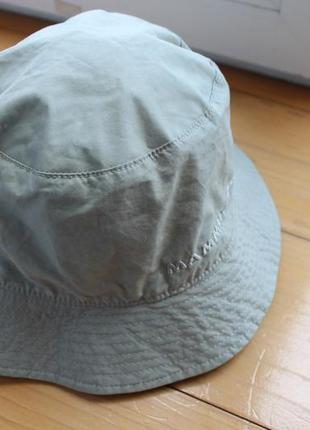 Ультралегка тонкая хлопковая унисекс панама шляпа mammut outdoor