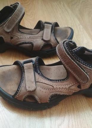 Кожаные босоножки, босоніжки , сандали big tramp( германия )42р