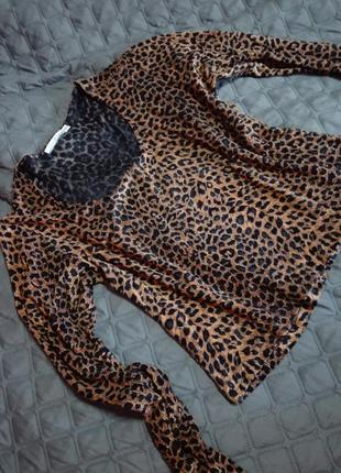 Суксуальна леопардова блузка 42-46