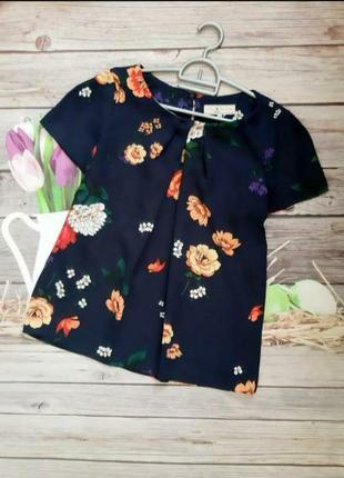 Цена дня!!! легкая блузка шифоновая