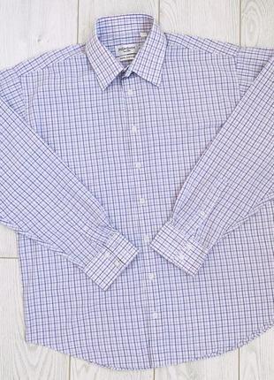 Рубашка yvves saint laurent 100%cotton