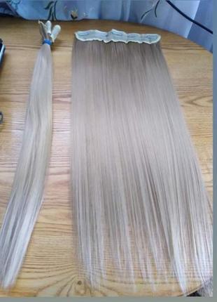 Волосся на тіпсах
