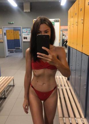 Очень красивый ❤️ красный купальник women'secret