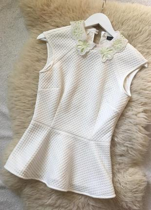 Блузка с баской karen millen