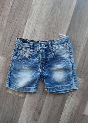Джинсовые шорты для мальчика