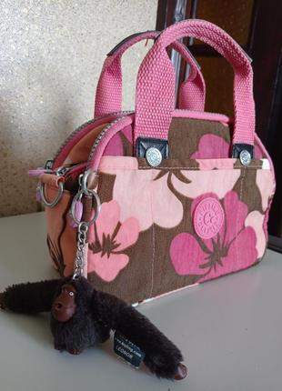 Kipling сумка с брелоком обезьянка оригинал бельгия.