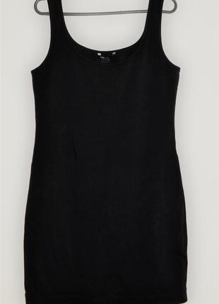 Элегантное чёрное платье h&m + подарок