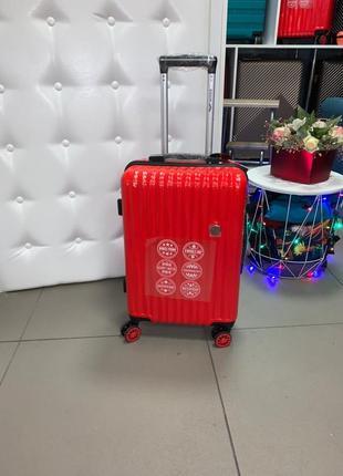 Распродажа. шикарный карбоновый ударопрочный чемодан wings ручная кладь