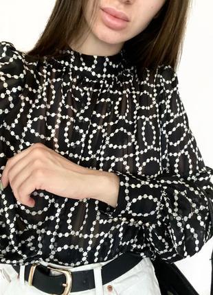 Блуза рубашка h&m p.m