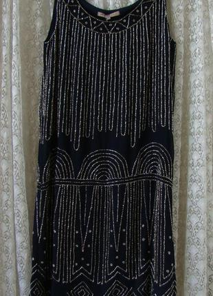 Платье вечернее бисер anna field р.42 №7470