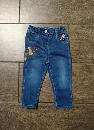Джинсы # джинсы из трикотажного котона