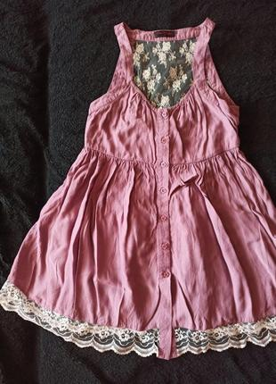 Красивейшая блуза м сетчатой спинкой, цветочный узор, пыльно лиловый оттенок 💞