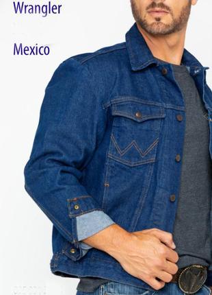 Куртка wrangler cowboy cut unlined denim jacket