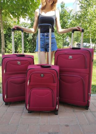 Дорожный чемодан на колесах