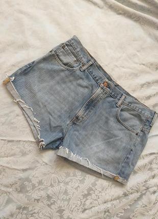 Шорти джинсові великого розміру