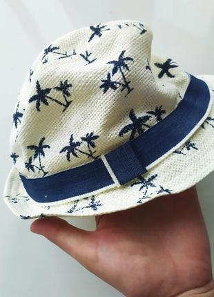 Детская панама шляпа на мальчика девочку унисекс