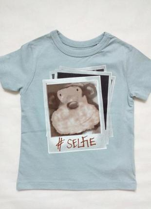 Стильная футболка для мальчиков next 9-12 мес, 1-2, 3-4 года