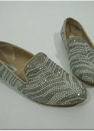 Steve madden for victoria's secret rhinestone loafers лоферы оригинал