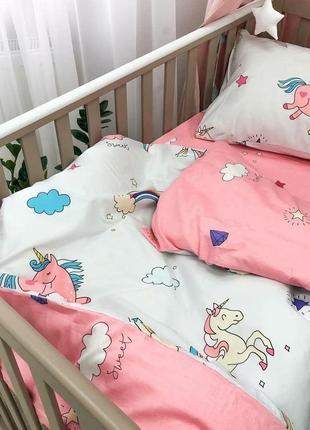Постіль дитяча сатин 100% бавовна! чудова якість! постель/ постіль в ліжечко