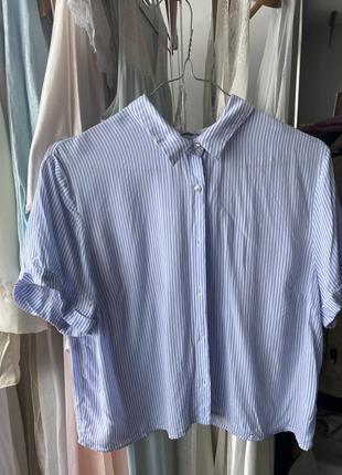 Укорочённая рубашка pull&bear