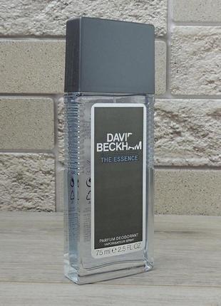 David beckham david beckham the essence 75 мл дезодорант для мужчин