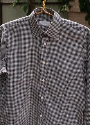 Рубашка в клеточку prada