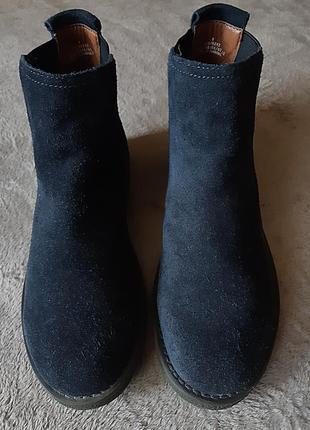 Женские ботинки челси  indigo