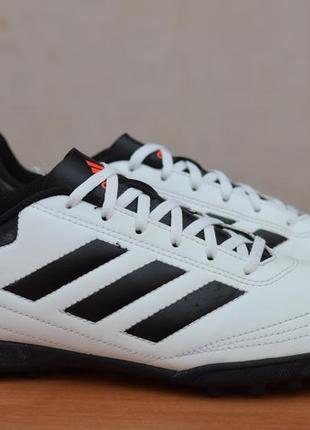 Белые копы, копочки, сороконожки, футзалки adidas goletto vi tf, 42 размер. оригинал