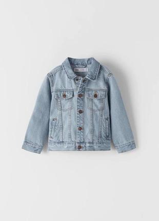 Джинсова куртка з подертостями, zara, оригінал, з європи!